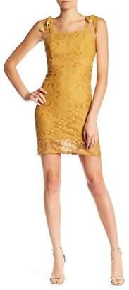 Dee Elly Tie Strap Lace Dress