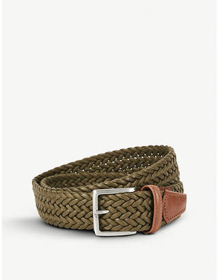 Andersons Woven waxed belt