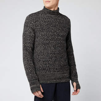 Men's Talbot Roll Neck Knitted Jumper