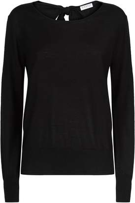 Claudie Pierlot Cut-Out Reverse Sweater