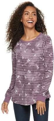 Sonoma Goods For Life Petite SONOMA Goods for Life French Terry Crewneck Sweatshirt