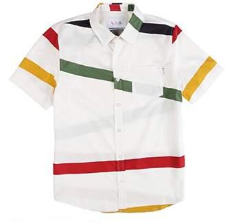 Lrg Men's Montego Bay Short Sleeve Woven Shirt