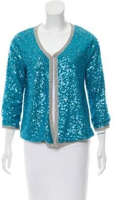 Calypso Embellished Open Front Cardigan