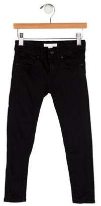 Burberry Girls' Five Pocket Jeans black Girls' Five Pocket Jeans
