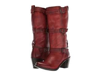 Frye Carmen 3 Strap Women's Boots