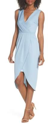 Cooper St Florence Drape Sheath Dress