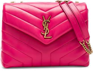 Saint Laurent Small Supple Monogramme Loulou Chain Bag