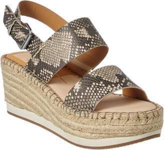 Dolce Vita Mauri Snakeskin Wedge Sandal