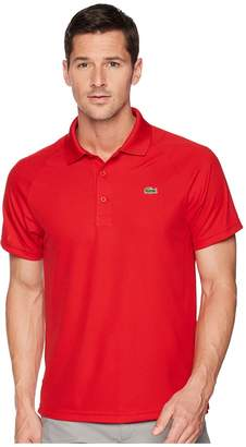 Lacoste Short Sleeve Ultra Dry Raglan Sleeve Polo Men's Short Sleeve Pullover