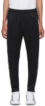 Nike Black Swoosh Tape Track Pants