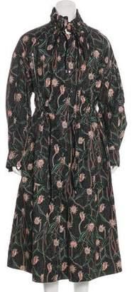 Isabel Marant Pleated Long Coat