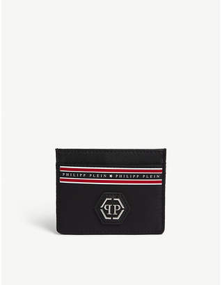Philipp Plein Road 62 faux-leather card holder