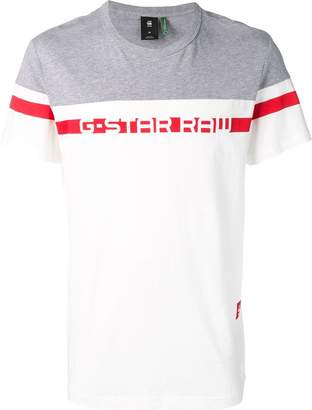 G Star Research logo printed T-shirt