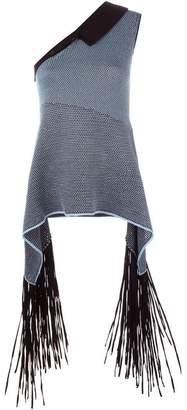 Stella McCartney distressed mesh jumper