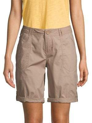 Democracy Cuffed Bermuda Shorts