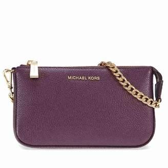 Michael Kors MICHAEL Jet Set Leather Chain Wallet, Color
