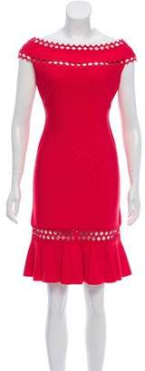 Herve Leger Darja Cutout Dress