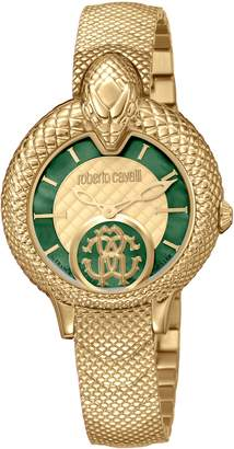Roberto Cavalli BY FRANCK MULLER Scale Bracelet Watch