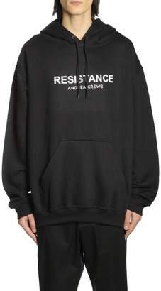 Andrea Crews Resist Hoodie Resistanceblack
