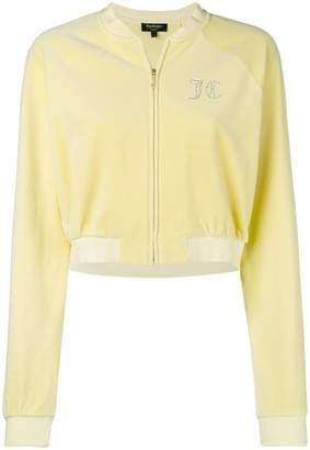 Juicy Couture (ジューシー クチュール) - Juicy Couture Swarovski personalisable velour crop jacket