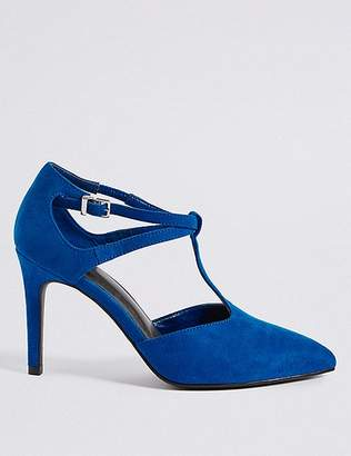 Marks and Spencer Stiletto Heel T-Bar Courts Shoes