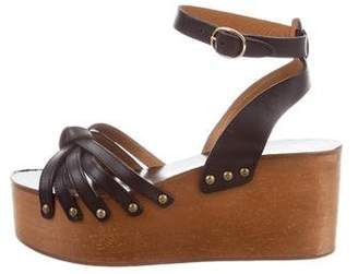 Etoile Isabel Marant Leather Platform Sandals