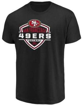 Majestic San Francisco 49ers NFL Primary Receiver Cotton Tee