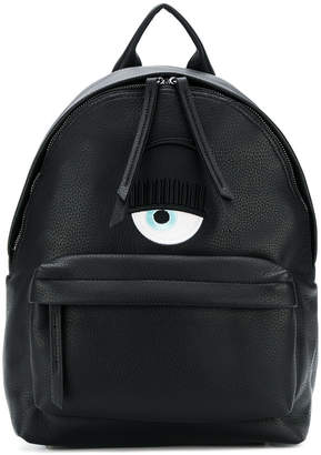 Chiara Ferragni Logo backpack