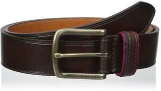 Tommy Hilfiger Men's 1 3/8 in. Ribbon-Loop Belt