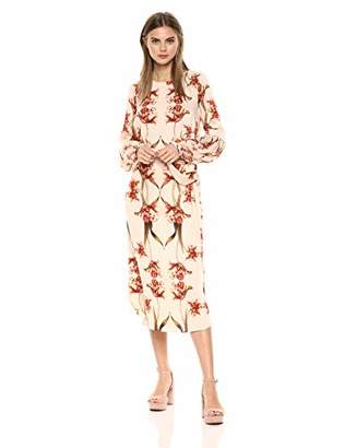 BCBGMAXAZRIA Azria Women's Tulip Print Shift Dress