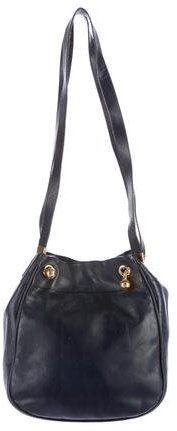 Bottega VenetaBottega Veneta Textured Leather Shoulder Bag