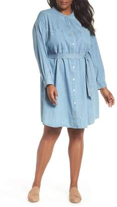 Eileen Fisher Organic Cotton Denim Shirtdress