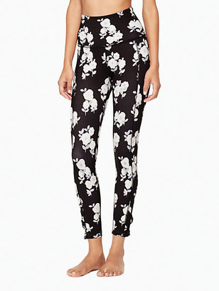 Cinched side bow high waisted capri legging $110 thestylecure.com