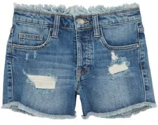 Treasure & Bond Festival Distressed Cutoff Denim Shorts
