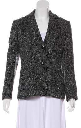 Max Mara Tweed Wool Blazer