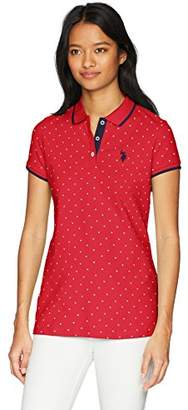 U.S. Polo Assn. Women's Stretch Pique Polo Shirt