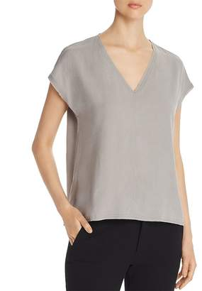Go Silk Go by Raw-Edge V-Neck Tee