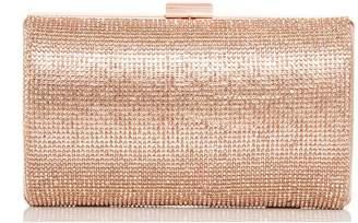 Quiz Rose Diamante Shimmer Bag