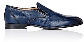 Barneys New York Men's Venetian Loafers - Navy