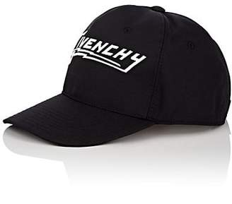 Givenchy Men's Logo Canvas Baseball Cap - Black