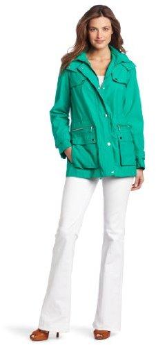 Calvin Klein Women's Short Anorak Jacket