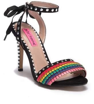 Betsey Johnson Tyna Ankle Tie Sandal