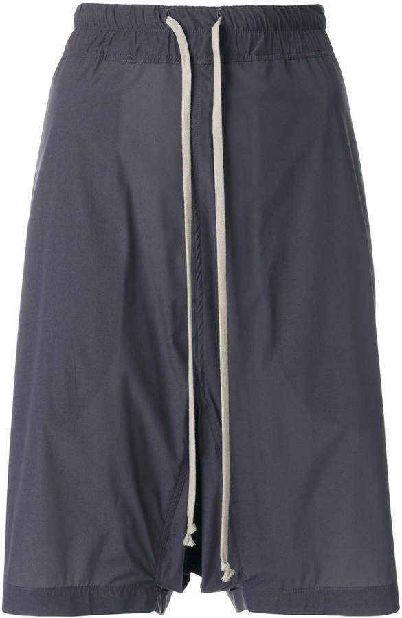 Knielange Baggy-Shorts