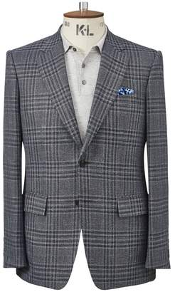 Chester Barrie Prince Of Wales Check Elverton Jacket