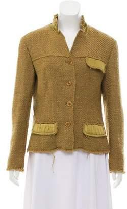 Philosophy di Alberta Ferretti Wool-Blend Tweed Jacket