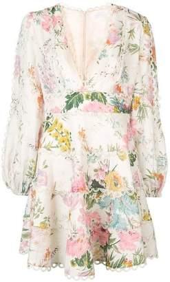 Zimmermann Short Floral Dress