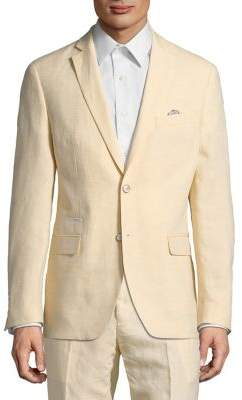 Tallia Orange The Mason Fit Linen Suit Jacket