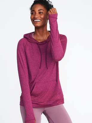 Old Navy Semi-Fitted Pullover Performance Hoodie for Women