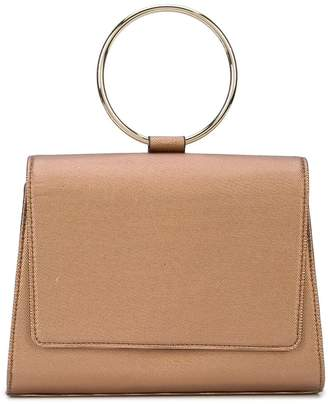 Christian Siriano bracelet top handle tote