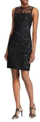Lauren Ralph Lauren Sequined Cocktail Dress
